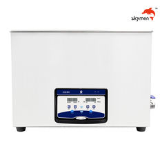 Laboratory Ultrasonic Cleaning Equipments 720W 38L Large Tank Adjustable Timer