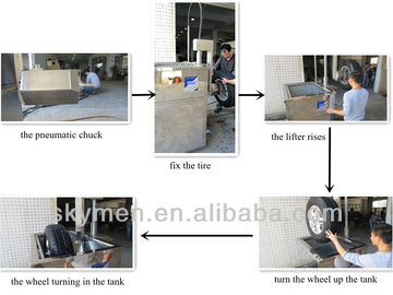 Customized Tyre Cleaning Machine Ultrasonic Engine Cleaner 453.6L